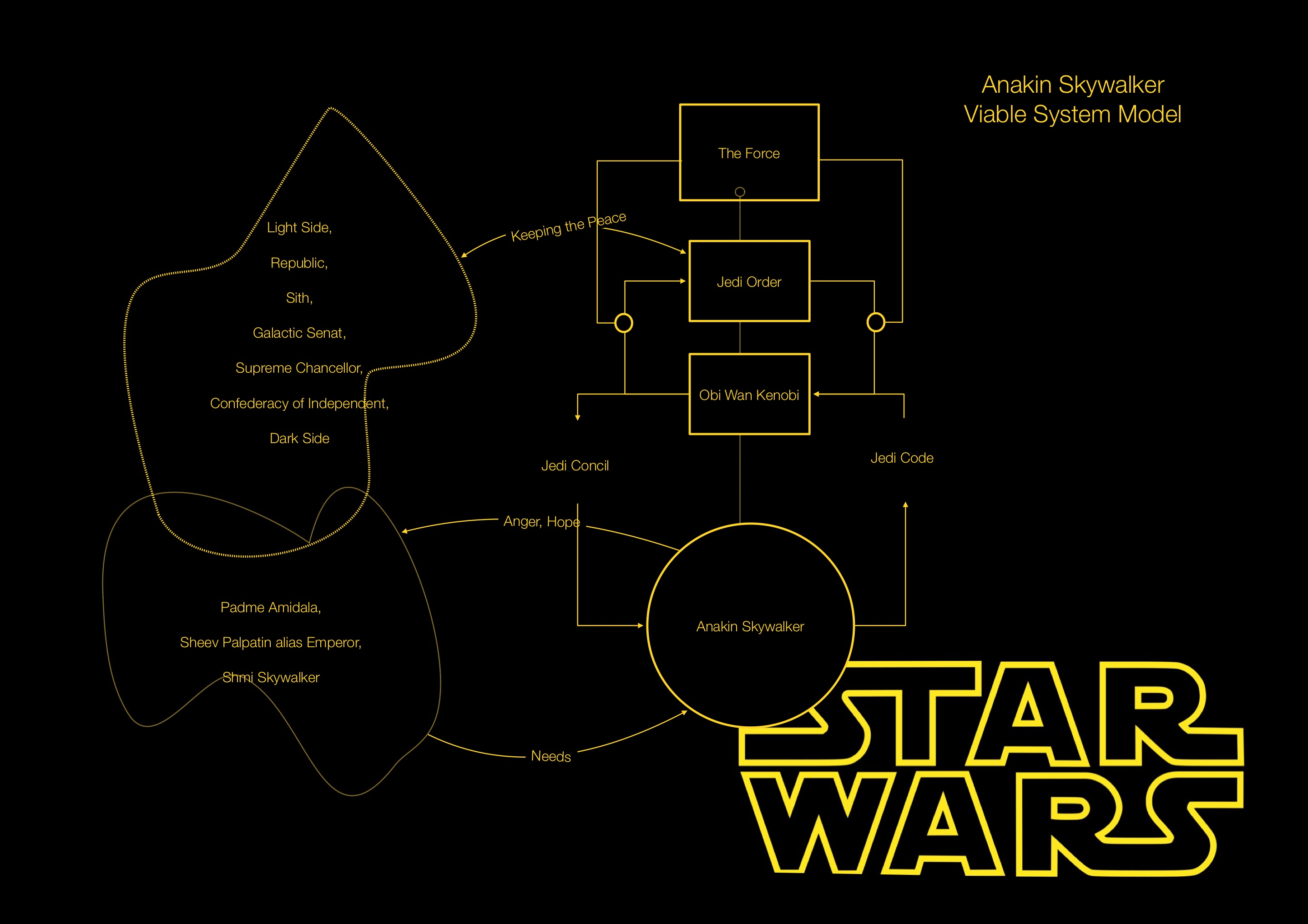 Viable System Model Star Wars
